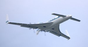 Beechcraft_Starship_in_flight