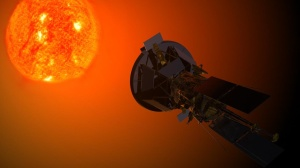 Solar_Probe_Plus_observing_the_Sun