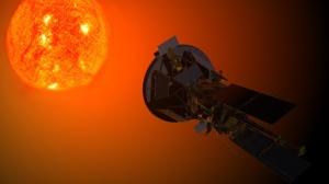 Solar_Probe_Plus_observing_the_Sun