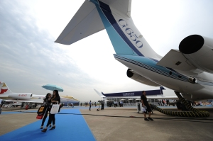 CHINA-ECONOMY-BUSINESS-AIRCRAFT-EXPO