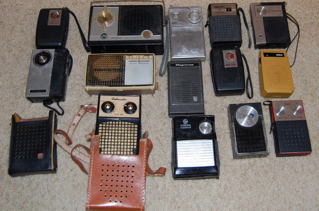 Small hand held radios