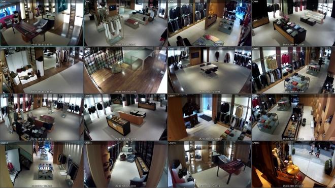 DAKS - IDIS DirectIP surveillance images