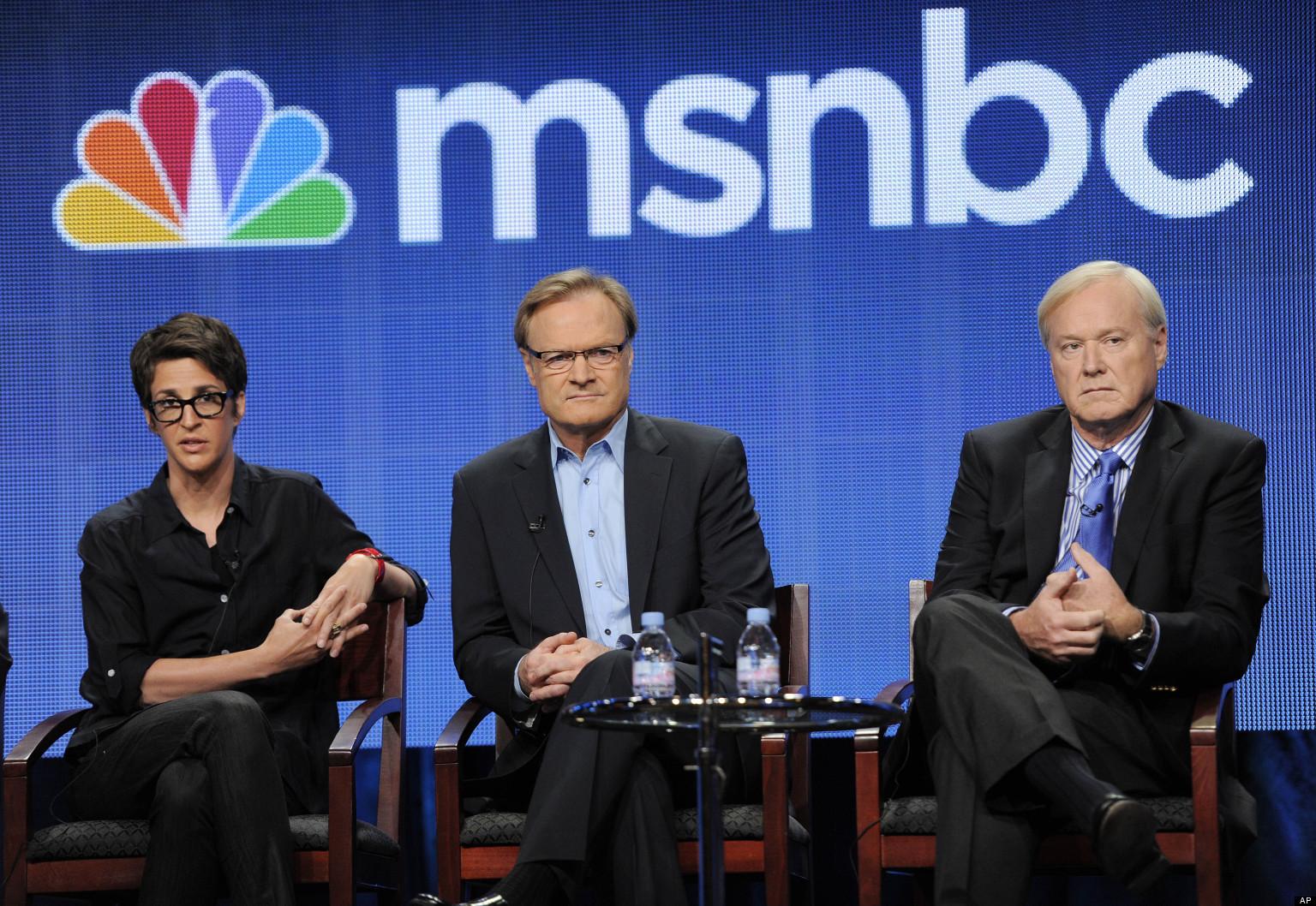 Rachel Maddow, Chris Matthews, Lawrence O'Donnell